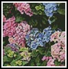 Mini Hydrangeas - Cross Stitch Chart