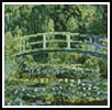 Mini The Japanese Bridge - Cross Stitch Chart