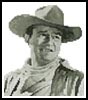 Mini John Wayne - Cross Stitch Chart