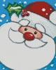 Mini Jolly Santa - Cross Stitch Chart