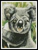 Mini Koala 2 - Cross Stitch Chart