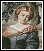 Mini Lady 1 - Cross Stitch Chart