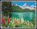 Mini Landscape 10 - Cross Stitch Chart