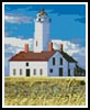 Mini Lighthouse - Cross Stitch Chart
