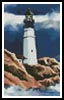 Mini Lighthouse in a Storm - Cross Stitch Chart
