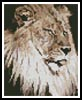 Mini Lion 2 - Cross Stitch Chart