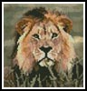 Mini Lion 3 - Cross Stitch Chart
