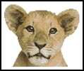 Mini Lion Cub - Cross Stitch Chart