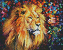 Mini Lion of Zion - Cross Stitch Chart