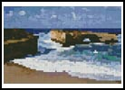 Mini London Bridge, Great Ocean Road - Cross Stitch Chart
