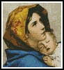 Mini Madonna - Cross Stitch Chart