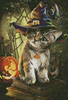 Mini Magic Cat - Cross Stitch Chart