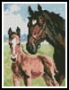 Mini Mare and Foal - Cross Stitch Chart