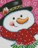 Mini Merry Snowman - Cross Stitch Chart