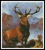 Mini Monarch of the Glen - Cross Stitch Chart