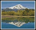 Mini Mount Baker - Cross Stitch Chart