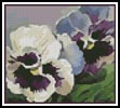 Mini Pansies - Cross Stitch Chart
