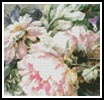 Mini Pink Peonies - Cross Stitch Chart
