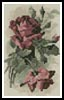 Mini Pink Roses 3 - Cross Stitch Chart