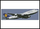 Mini Plane - Cross Stitch Chart