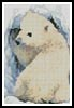 Mini Polar Bear Cub - Cross Stitch Chart