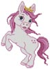 Mini Princess Horse - Cross Stitch Chart