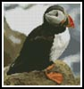 Mini Puffin - Cross Stitch Chart