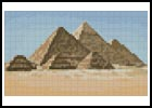 Mini Pyramids - Cross Stitch Chart