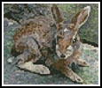 Mini Rabbit - Cross Stitch Chart