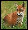 Mini Red Fox - Cross Stitch Chart