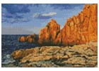 Mini Rocky Coast - Cross Stitch Chart
