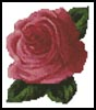 Mini Rose - Cross Stitch Chart