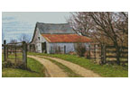 Mini Rustic Barn - Cross Stitch Chart