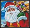 Mini Santa 2 - Cross Stitch Chart