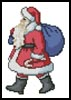 Mini Santa Claus - Cross Stitch Chart