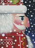 Mini Santa Nutcracker - Cross Stitch Chart