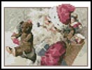 Mini Santa with Toys - Cross Stitch Chart