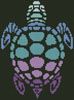 Mini Sea Turtle - Cross Stitch Chart