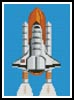 Mini Shuttle - Cross Stitch Chart