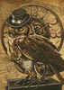 Mini Steampunk Owl - Cross Stitch Chart