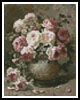 Mini Still life with Roses 2 - Cross Stitch Chart