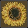 Mini Sunflower 2 - Cross Stitch Chart
