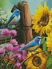 Mini Sunflower Garden - Cross Stitch Chart
