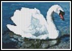 Mini Swan - Cross Stitch Chart