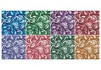Mini Swirl Cushions - Cross Stitch Chart