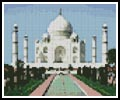 Mini Taj Mahal - Cross Stitch Chart