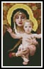 Mini The Virgin - Cross Stitch Chart