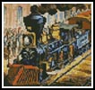 Mini Train - Cross Stitch Chart