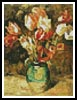 Mini Tulips in a Vase - Cross Stitch Chart