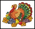 Mini Turkey 2 - Cross Stitch Chart